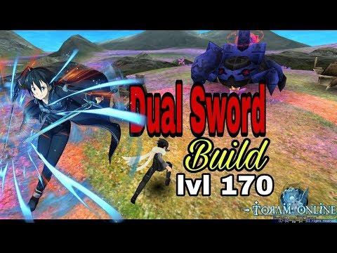 Toram Online - Dual Sword Build lvl 170 (lvl 4 skill)