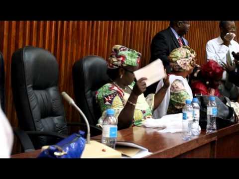 Extrême chaleur à l'Assemblée Nationale Guinéenne