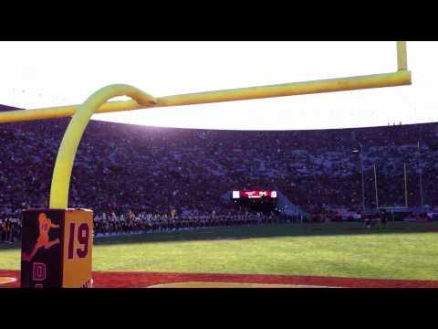 USC Trojan Marching Band pregame USC-Oregon homecoming 2010