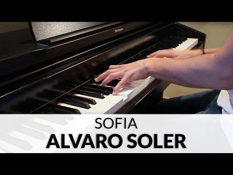 Alvaro Soler - Sofia   Piano Cover