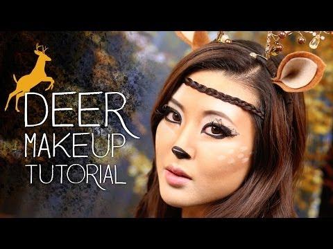 Cute Deer Makeup Tutorial | Halloween