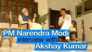 PM Narendra Modi's Candid Interview with Akshay Kumar