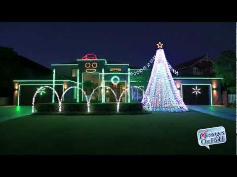 "Amazing Perth Christmas Lights 2012 ""Gangnam Style"" by Kym Illman"
