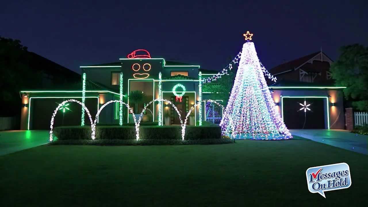 "VIDEO: Christmas lights ""Gangnam style"