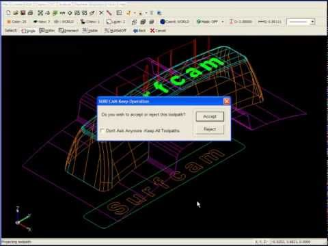 SURFCAM Tutorial - 3-Axis: Project