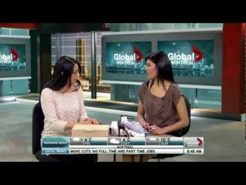 2013/04/04 Patricia Gajo on New Shopping Destinations in Montreal - Global Morning