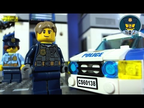 Lego City Police High Speed Chase Mini Movie Youtube