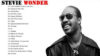 Stevie Wonder Greatest Hits Full Album - Best Songs of Stevie Wonder Nonstop Playlist
