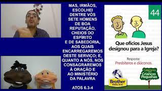 Catecismo para Crianças Pequenas - Pergunta 44