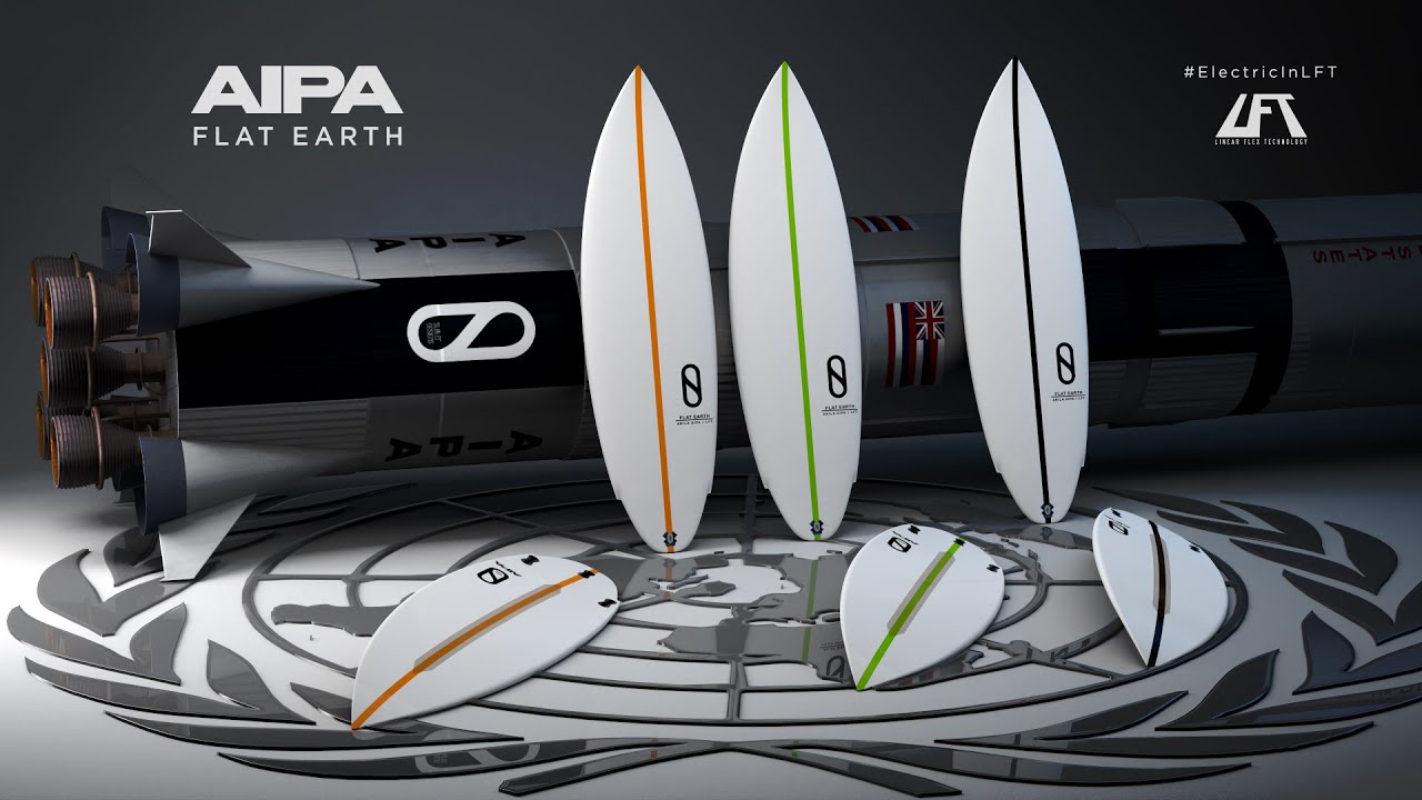 Firewire Surfboards: The Flat Earth by Akila Aipa and Kelly Slater