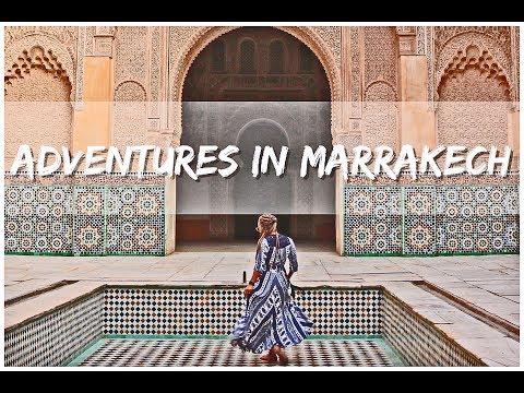 Marrakech Morocco Vlog | Ben Youssef + Bahia Palace