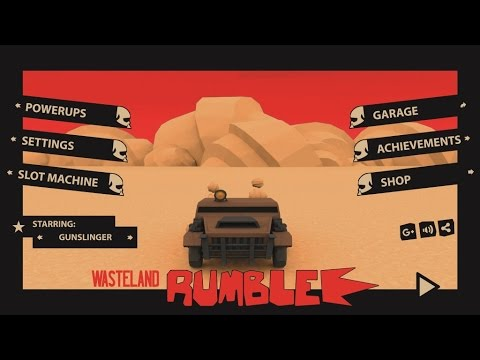 Wasteland Rumble Prototype Gameplay