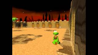 Croc Legend of the Gobbos [PSX] 100% - Level 3-B2 Cactus Jack