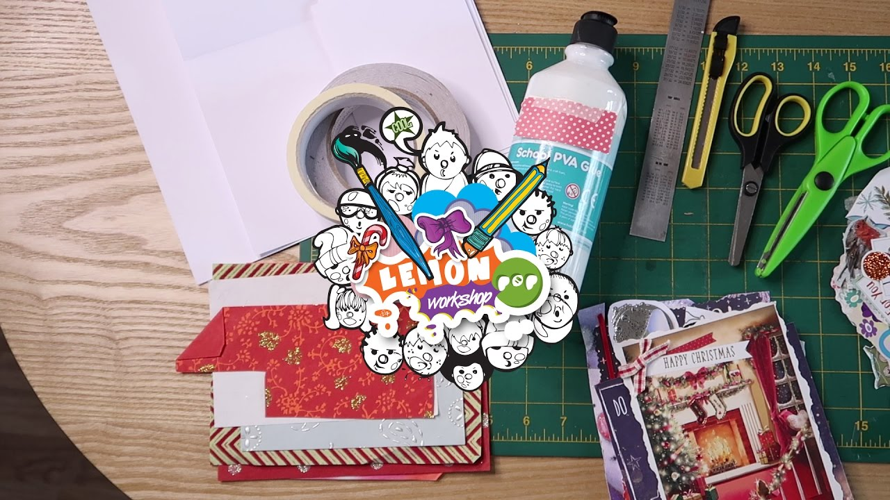 Card Making How To Recycle Reuse Greeting Cards Youtube