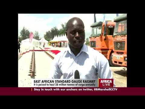 EA Standard Gauge railway launched in Mombasa