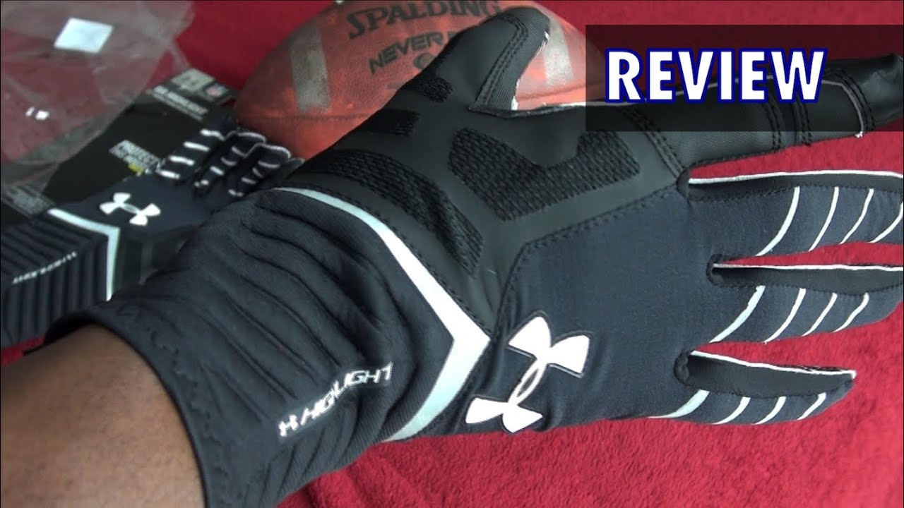 under armour highlight gloves youth