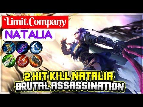 2 Hit Kill Natalia, Brutal Assassination [ Limit.Company Natalia ] Mobile Legends