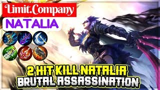 2 Hit Kill Natalia, Brutal Assassination [ Limit.Company Natalia ] Mobile Legends