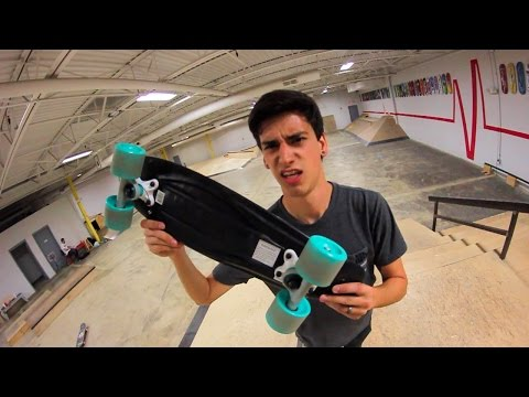 ATTEMPTING TO SKATE A WALMART PENNY BOARD!