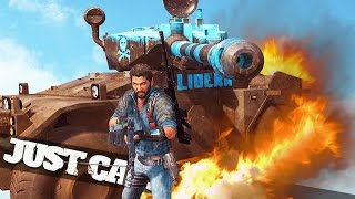 MACHINE GUN VS TANK BATTLE! :: Just Cause 3 Multiplayer Funny Moments!