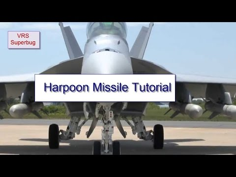 VRS Superbug - Harpoon Missile Tutorial