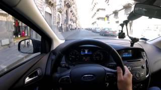 Ford Focus 4 diesel 1.5 Estate - Болтовня в движении на Форде Фокус Универсал (60p)