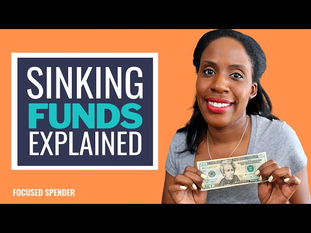 How To Remove The Stress From Your Life with Sinking Funds!!