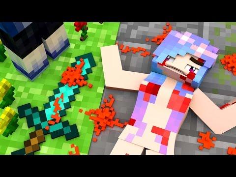NAKED GIRLFRIEND MURDERED!? (Minecraft Roleplay)