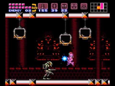 Parche Super Metroid MSU-1 y hack Hyper Metroid SNES