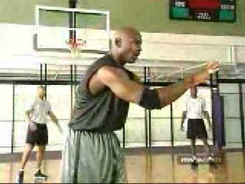 Michael Jordan Basketball Tips 13 Passing to the post
