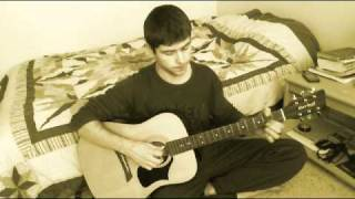 9-й Район - Он снял гитару с плеч (Acoustic cover by Vitador)