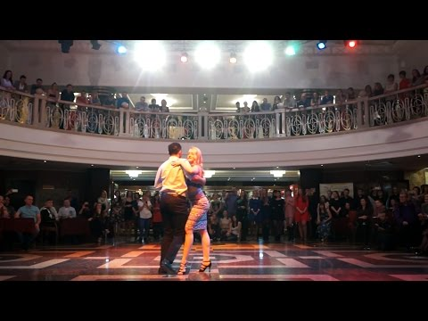 Martin Perez & Daria Chereshneva Teachers Presentation Kizomba (Dj Puto X –All The Way Remix)