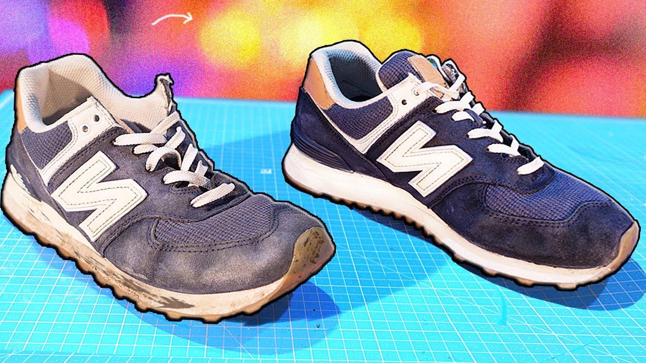 ВТОРАЯ ЖИЗНЬ УБИТЫХ КРОССОВОК | Как восстановить кроссовки?