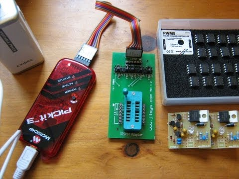 Program 12F683 with Microchip PICkit3 in Programmer-to-Go mode