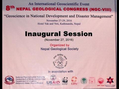 8TH NEPAL GEOLOGICAL CONGRESS 2016
