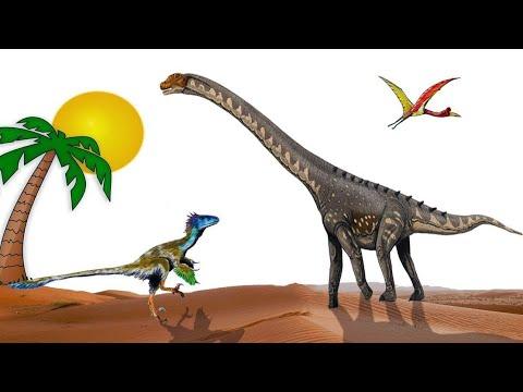 Новый вид динозавра из группы Sauropoda найден в Египте. Раскопки обещают много интересных фактов.