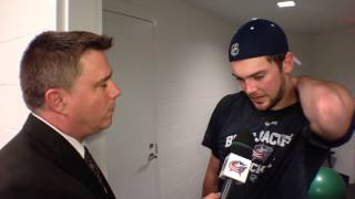 Post-game: Tim Erixon (9/25/13)