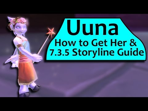 Uuna  How To Get Her and Secret 7.3.5 Storyline Guide