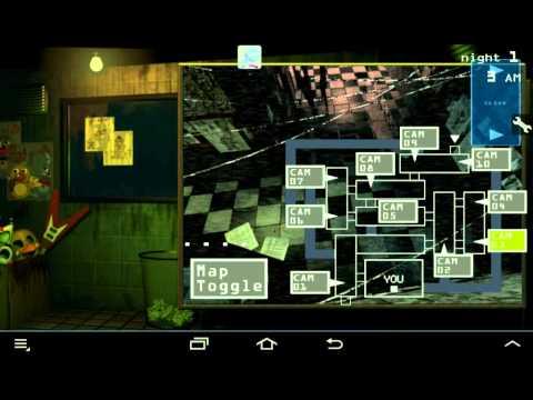 Прохождение мишка фредди 3  1 ночь на телефоне