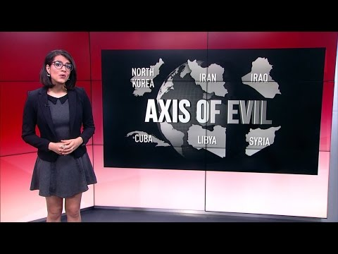 Thumbnail: Axis of Evil: US cycle of regime change in North Korea, Libya & beyond