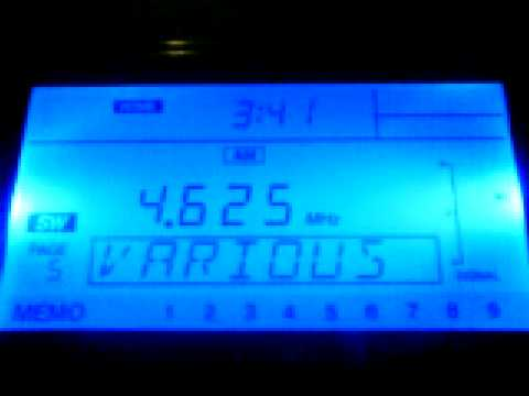 Russian station UVB-76 (The Buzzer) on 4625 kHz in Siofok, Hungary