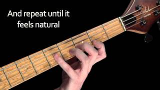 Learn Bass Lessons 10 - The major scale