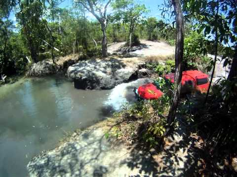 Drowned at Nolans Brook Crossing. 3 out of 4 made it from our Convoy, Cape York 2011