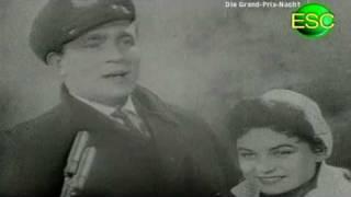 ESC 1957 09 - Denmark - Birthe Wilke & Gustav Winckler - Skibet Skal Sejle I Nat