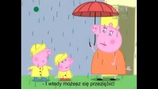 Świnka Peppa - Jacek jest przeziębiony (subtitles PL / польские субтитры)