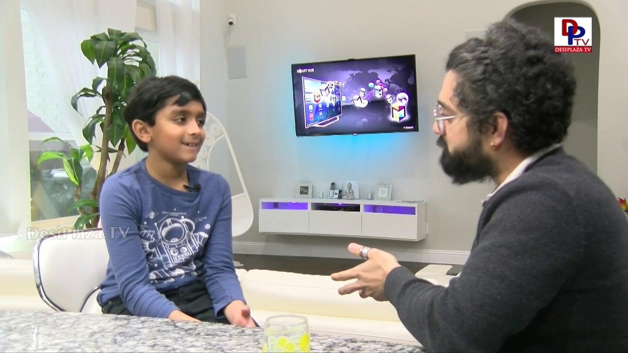 I love Physics - 3rd grader, awardee Prince Nallamothula speaks about his love for physics