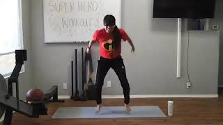 Superhero Workout for Kids with Celeste