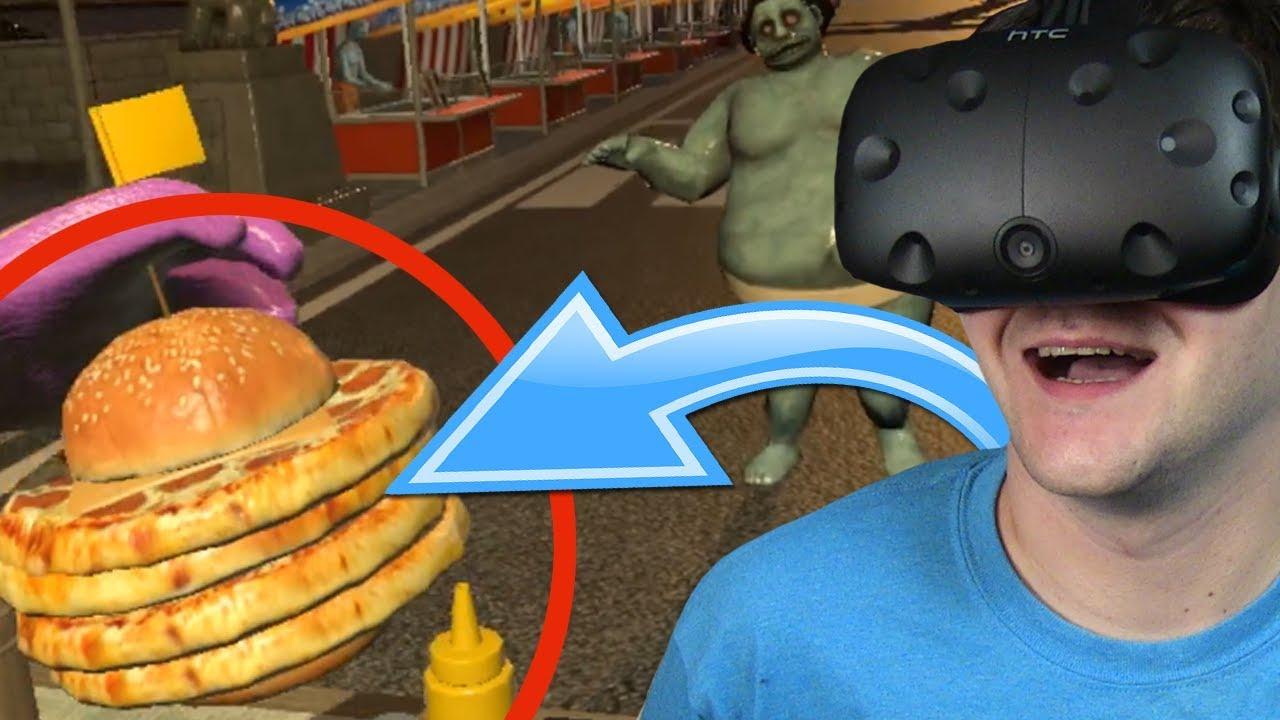 POCZWÓRNY PIZZA-BURGER – Dead Hungry #2 (HTC VIVE VR)