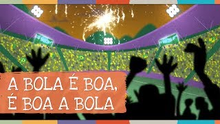 "Videoclipe da música ""A Bola é Boa, é Boa a Bola (Paulo Tatit e Zé ..."