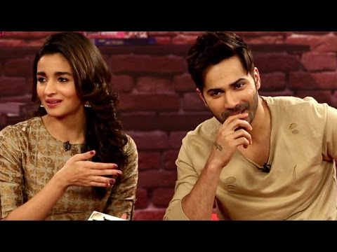 Varun-Alia Nail It At Mimicry | Yaar Mera Superstar | Badrinath Ki Dulhania